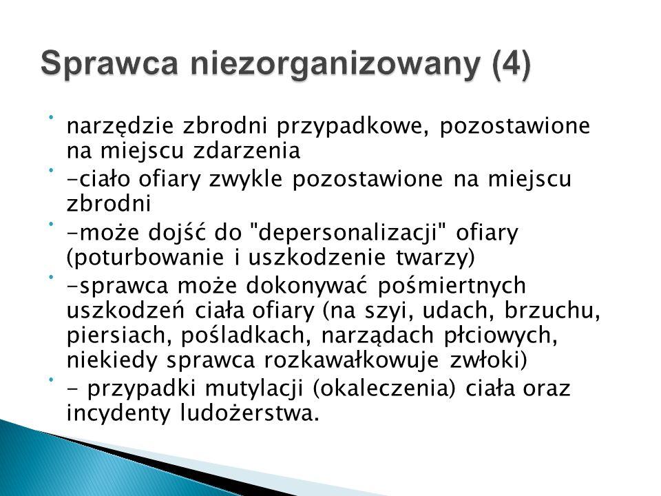 Sprawca niezorganizowany (4)