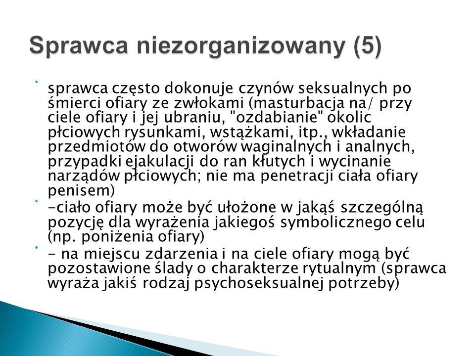 Sprawca niezorganizowany (5)