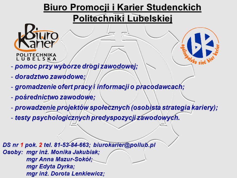 Biuro Promocji i Karier Studenckich Politechniki Lubelskiej