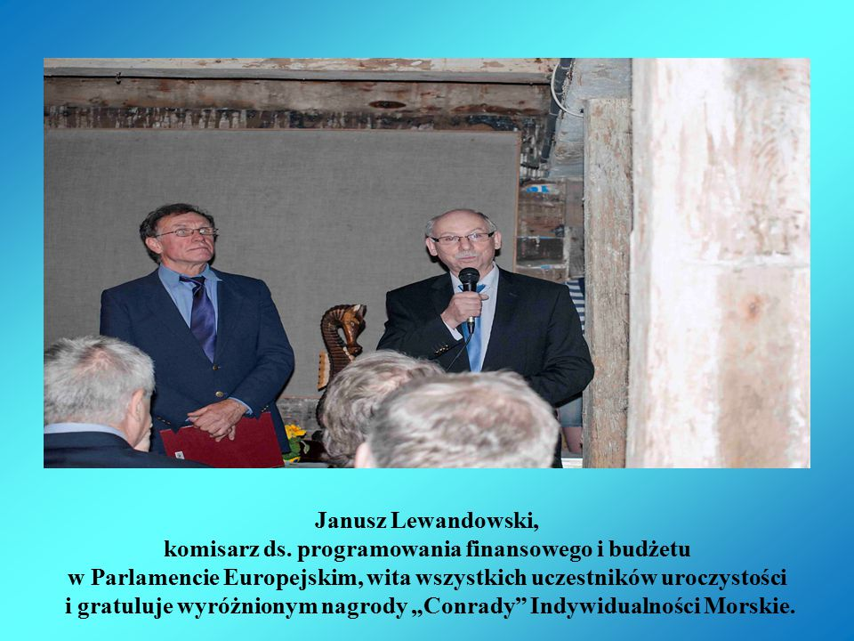 Janusz Lewandowski, komisarz ds