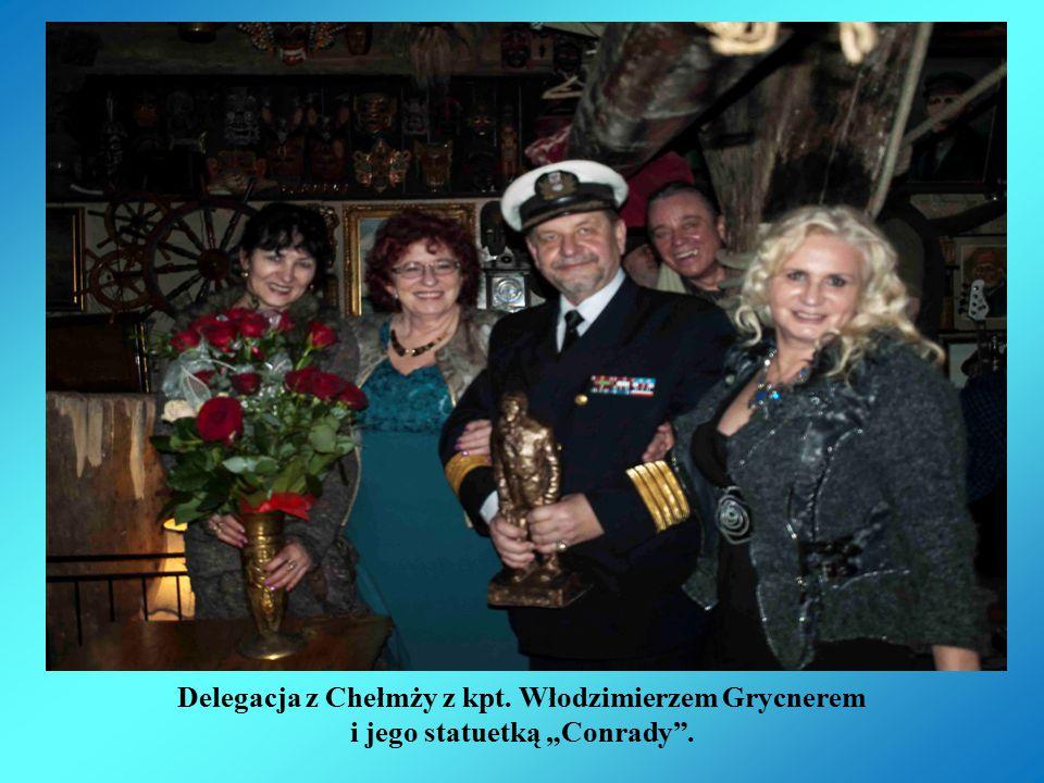Delegacja z Chełmży z kpt