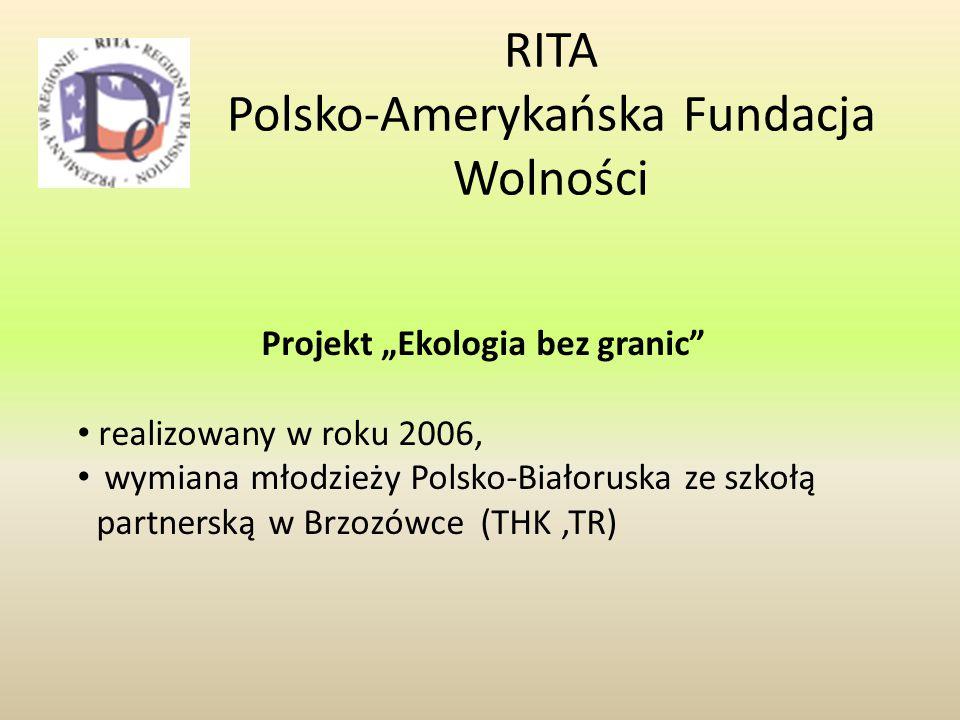 RITA Polsko-Amerykańska Fundacja Wolności
