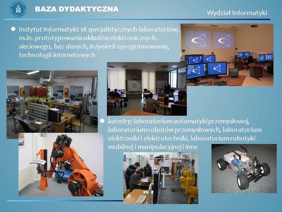 Baza dydaktyczna Wydział Informatyki.