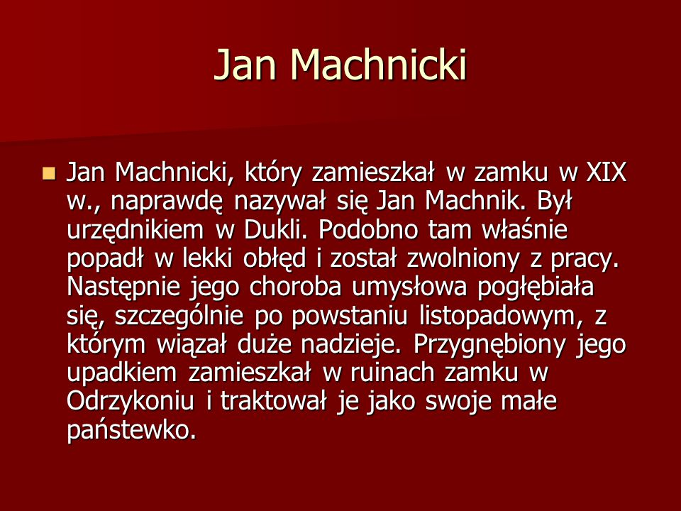 Jan Machnicki