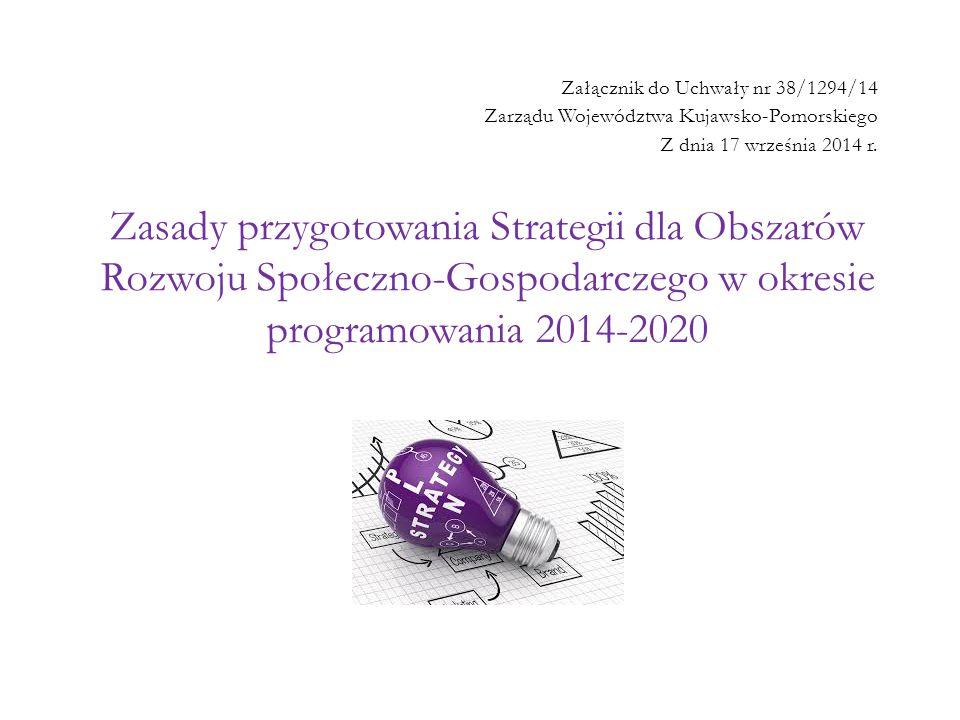 Załącznik do Uchwały nr 38/1294/14 Zarządu Województwa Kujawsko-Pomorskiego Z dnia 17 września 2014 r.