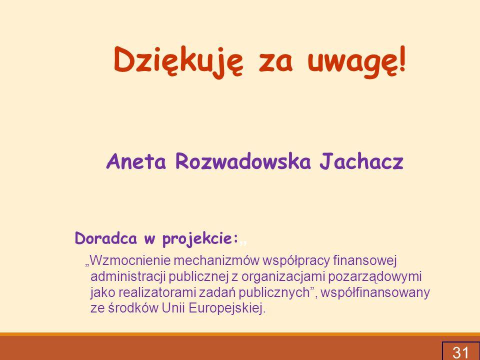 Aneta Rozwadowska Jachacz