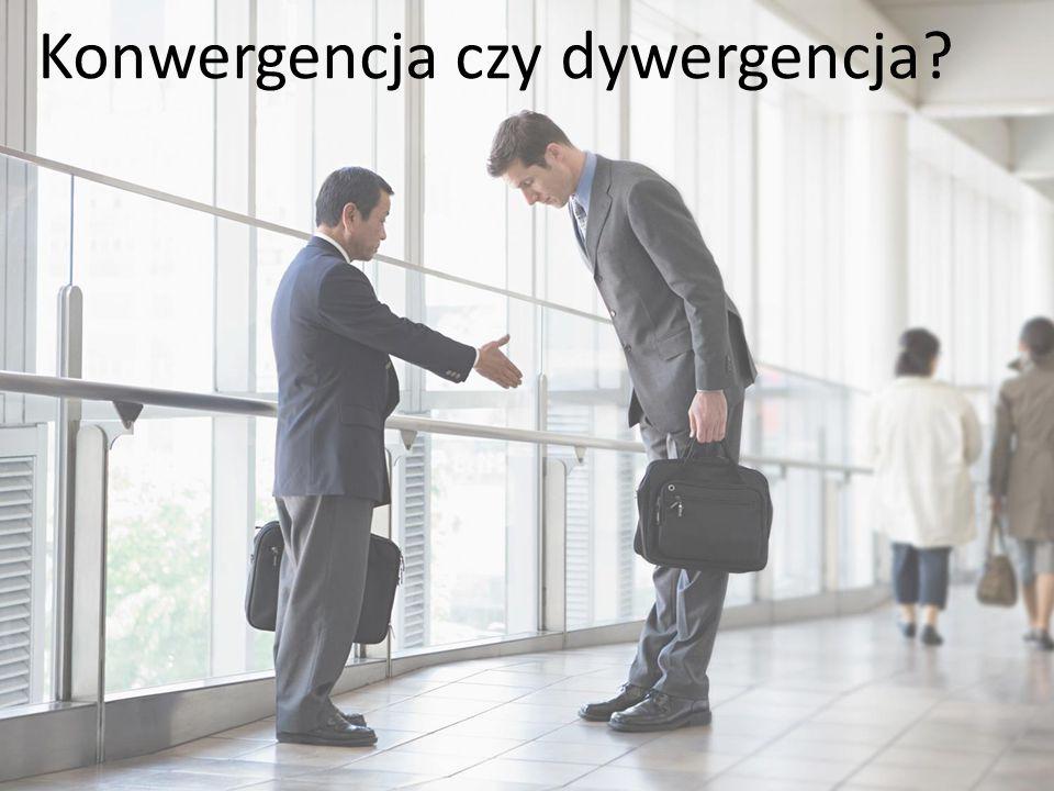 Konwergencja czy dywergencja
