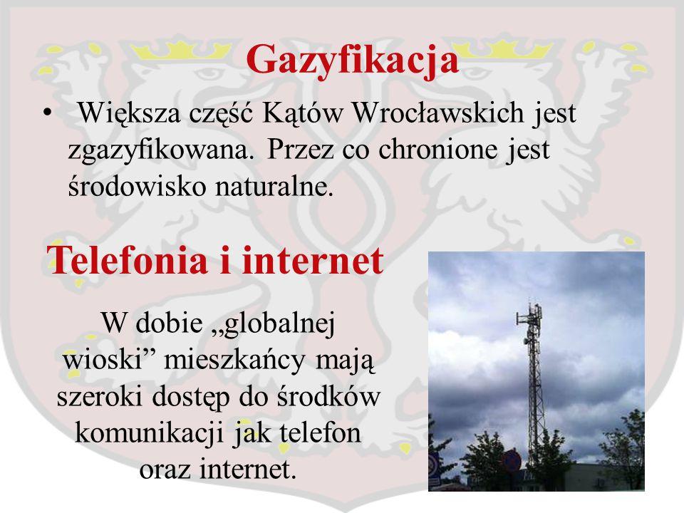 Gazyfikacja Telefonia i internet