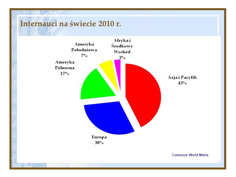 Internauci na świecie 2010 r.