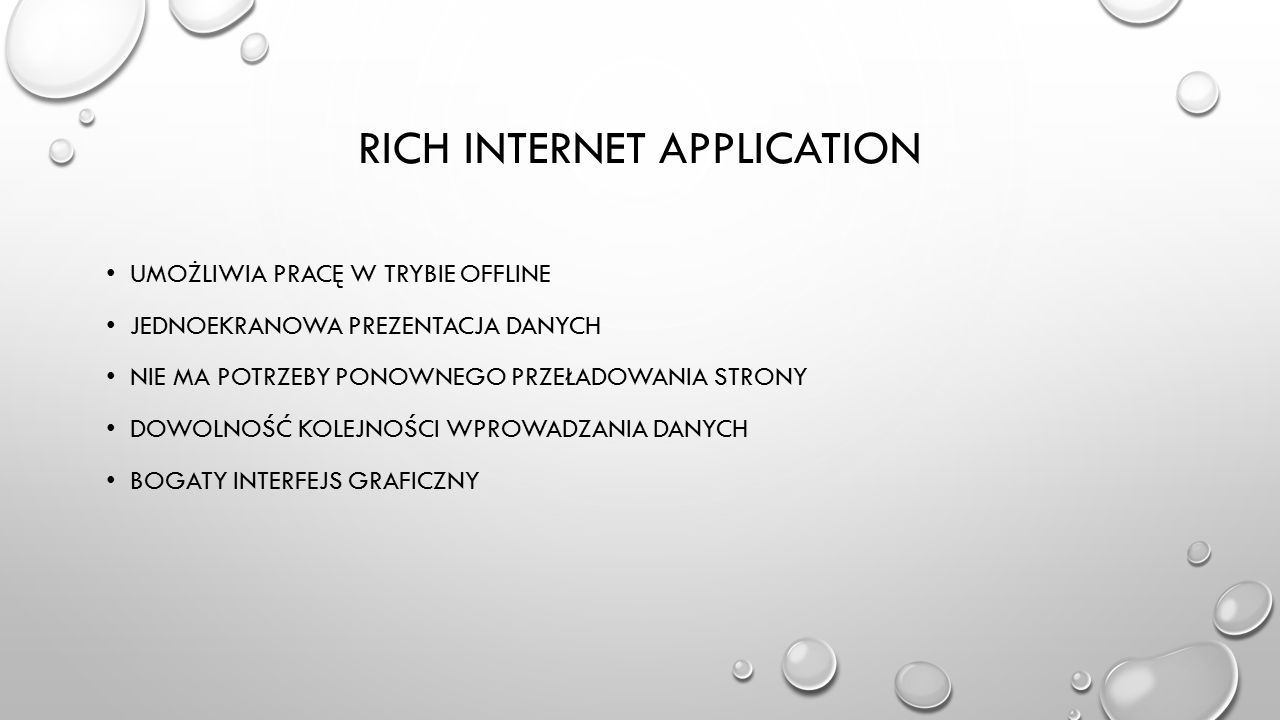 Rich Internet Application
