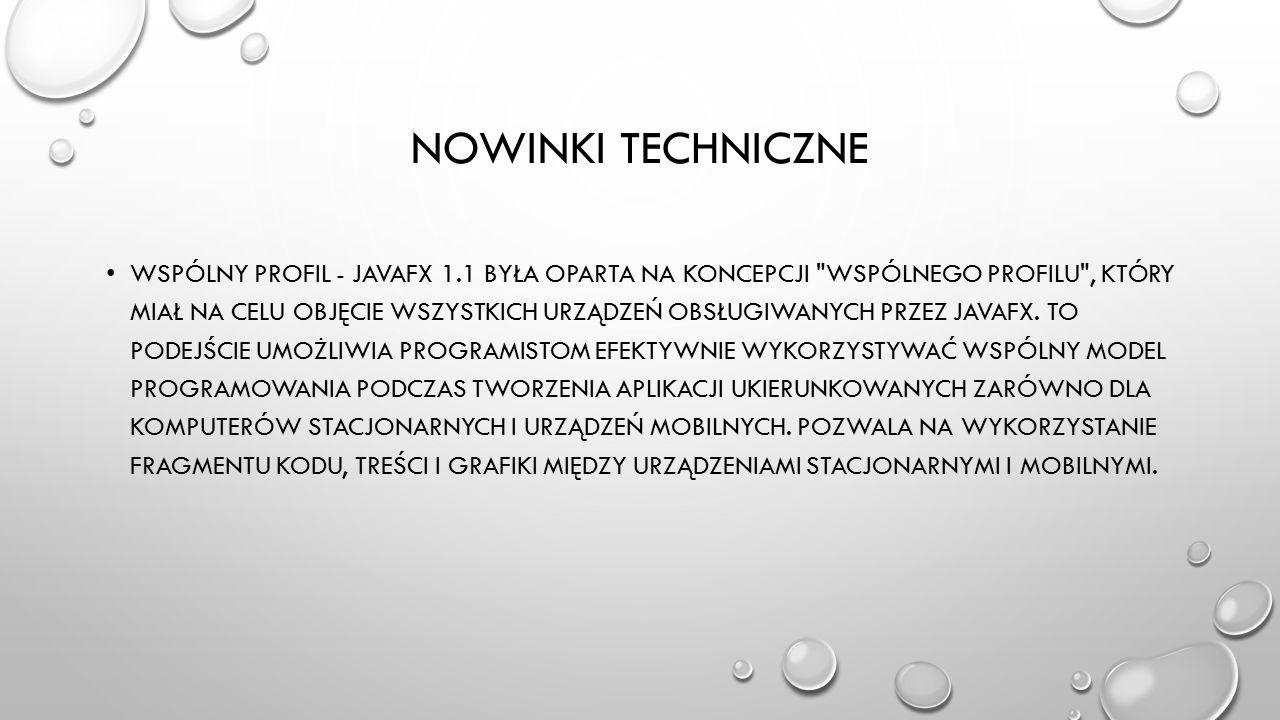 Nowinki techniczne