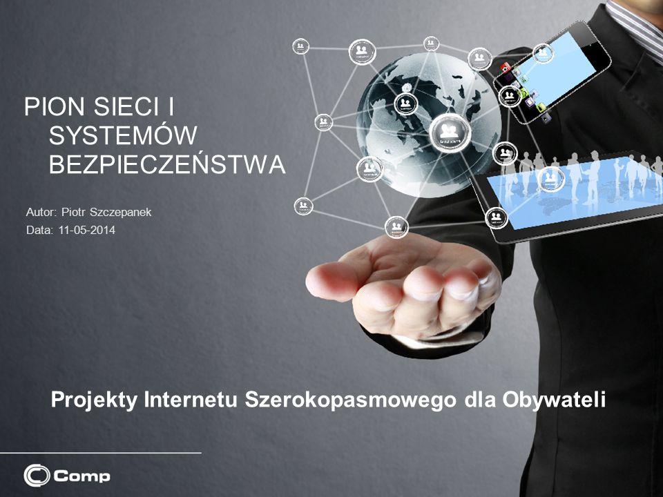 Projekty Internetu Szerokopasmowego dla Obywateli