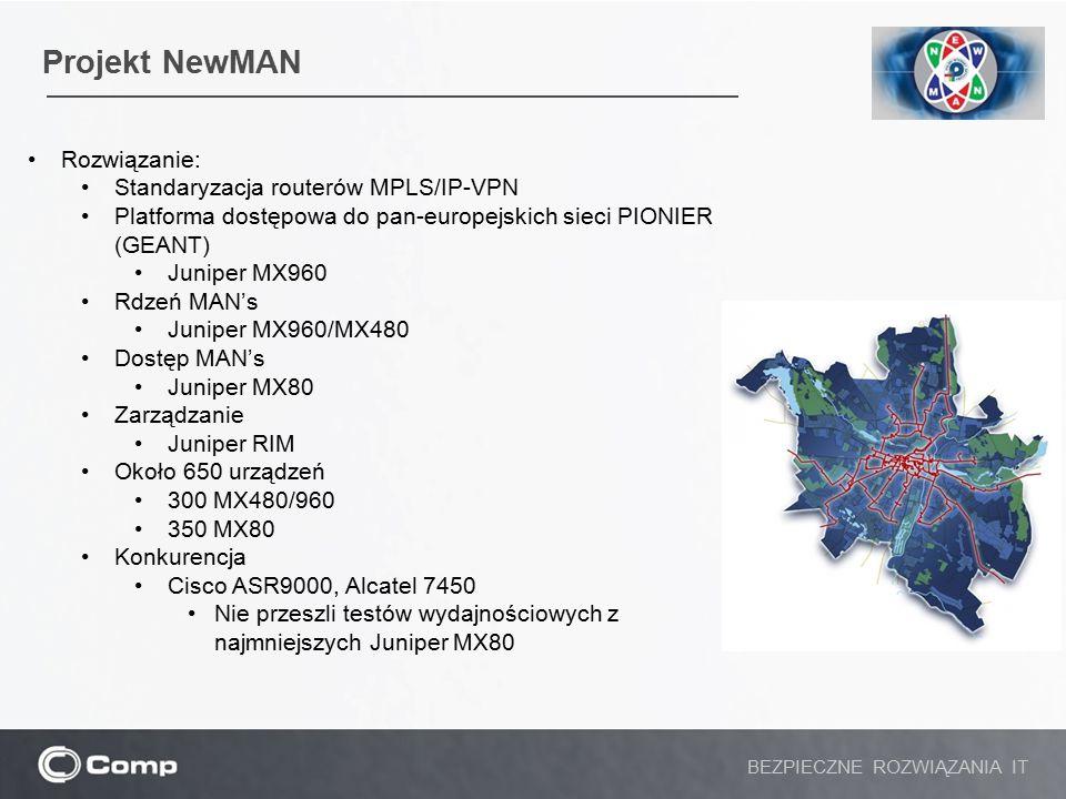 Projekt NewMAN Rozwiązanie: Standaryzacja routerów MPLS/IP-VPN