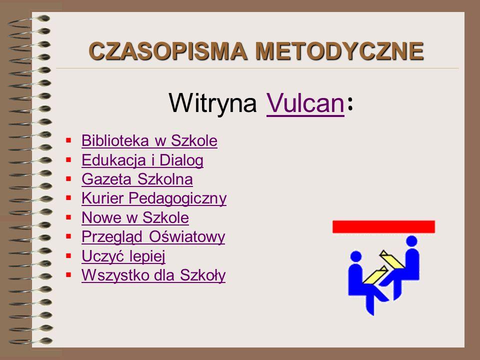 CZASOPISMA METODYCZNE