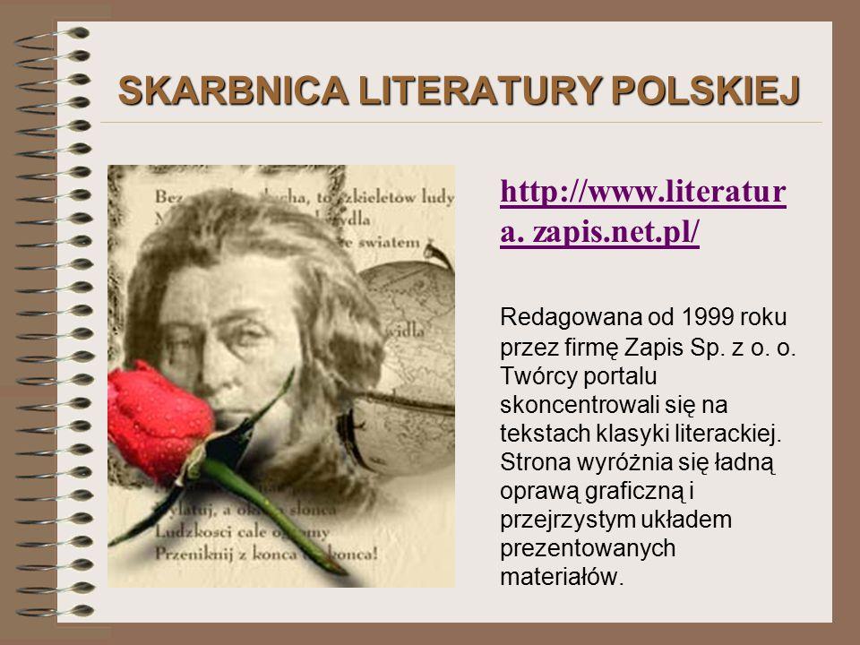 SKARBNICA LITERATURY POLSKIEJ