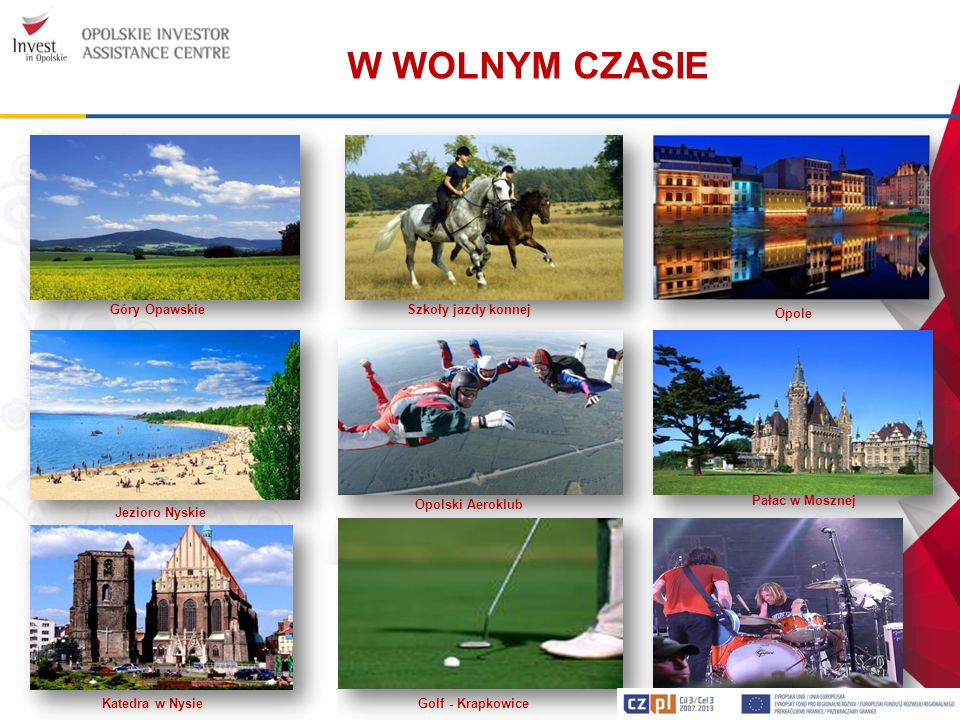 W WOLNYM CZASIE Góry Opawskie. Szkoły jazdy konnej. Opole.