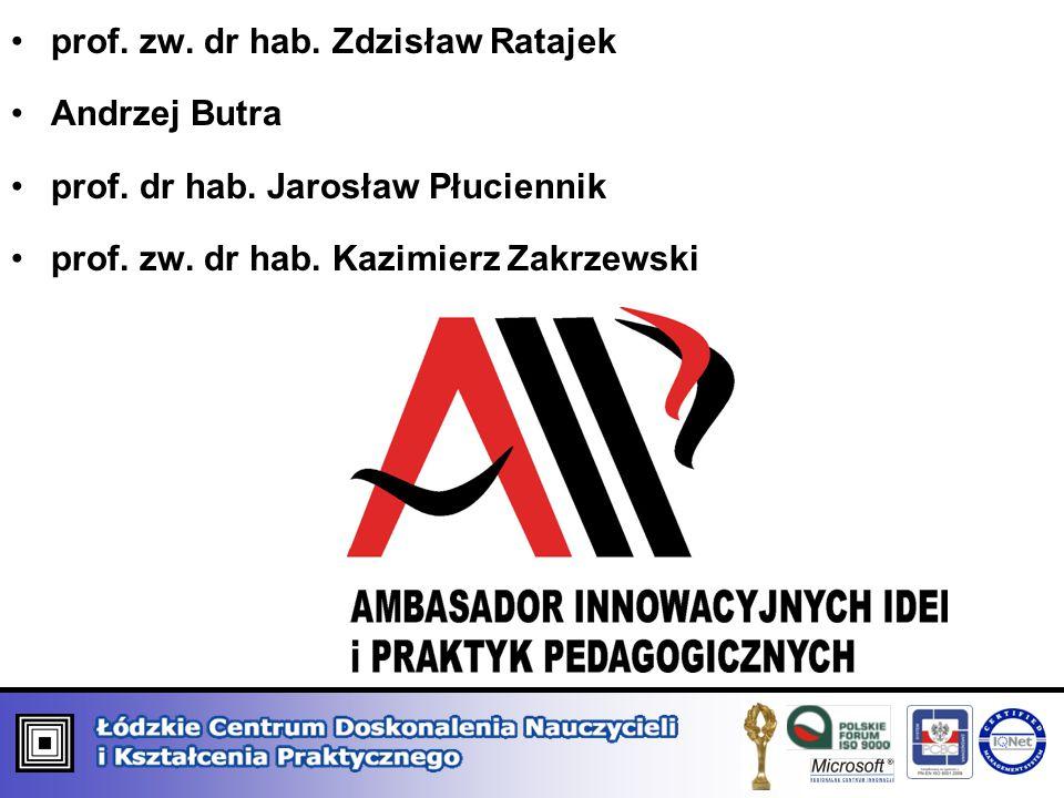 prof. zw. dr hab. Zdzisław Ratajek