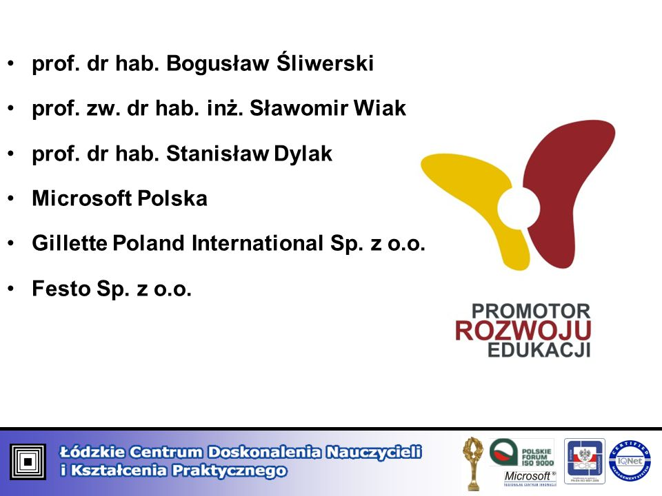 prof. dr hab. Bogusław Śliwerski