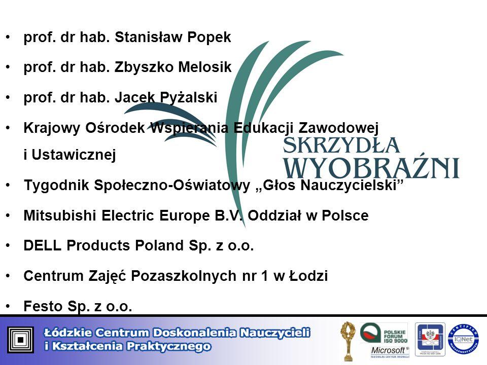 prof. dr hab. Stanisław Popek
