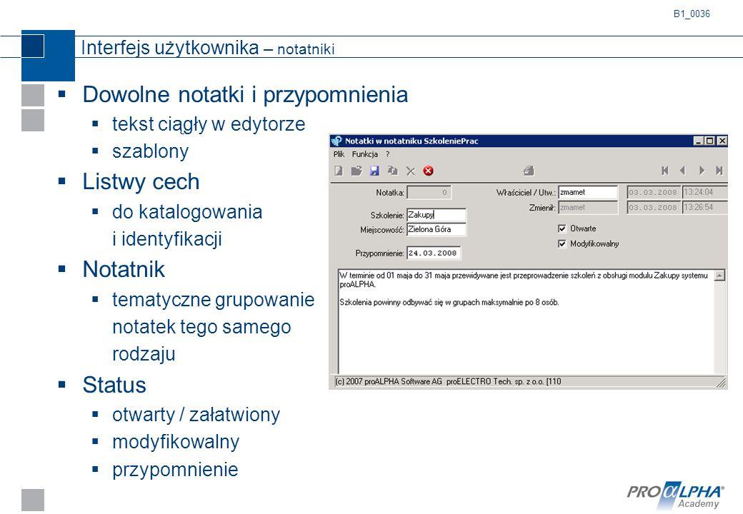 Interfejs użytkownika – notatniki