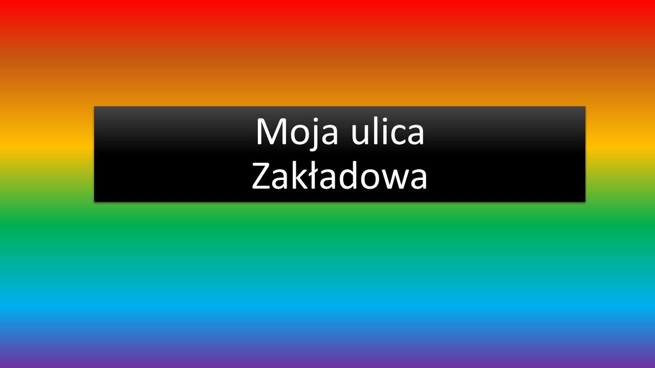 Moja ulica Zakładowa