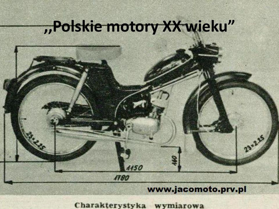 ,,Polskie motory XX wieku
