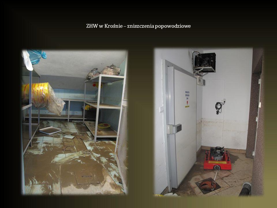 ZHW w Krośnie – zniszczenia popowodziowe