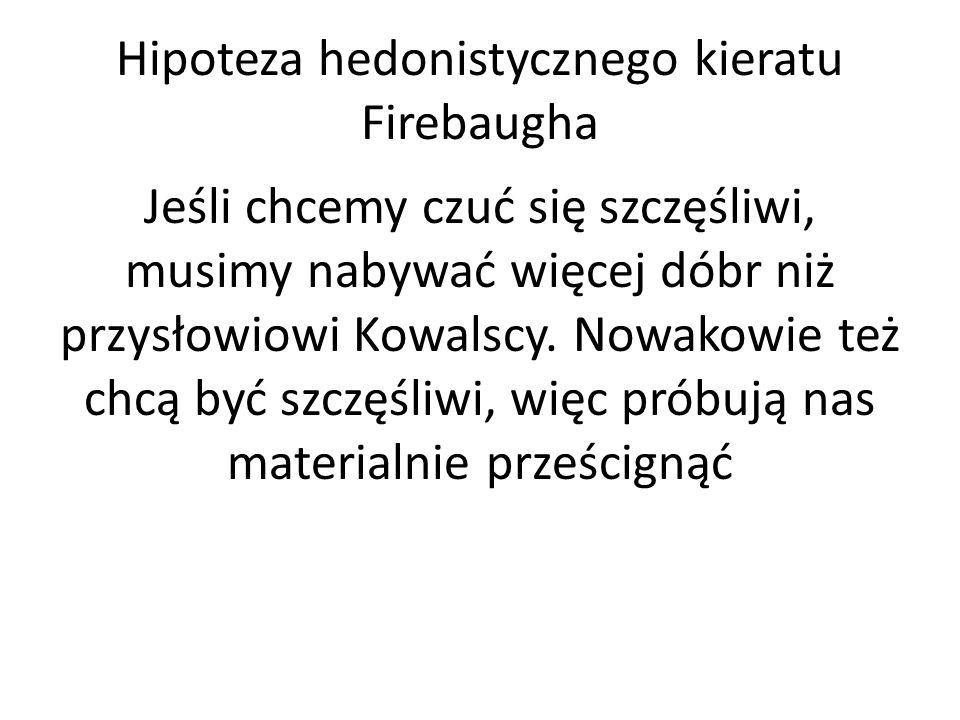 Hipoteza hedonistycznego kieratu Firebaugha