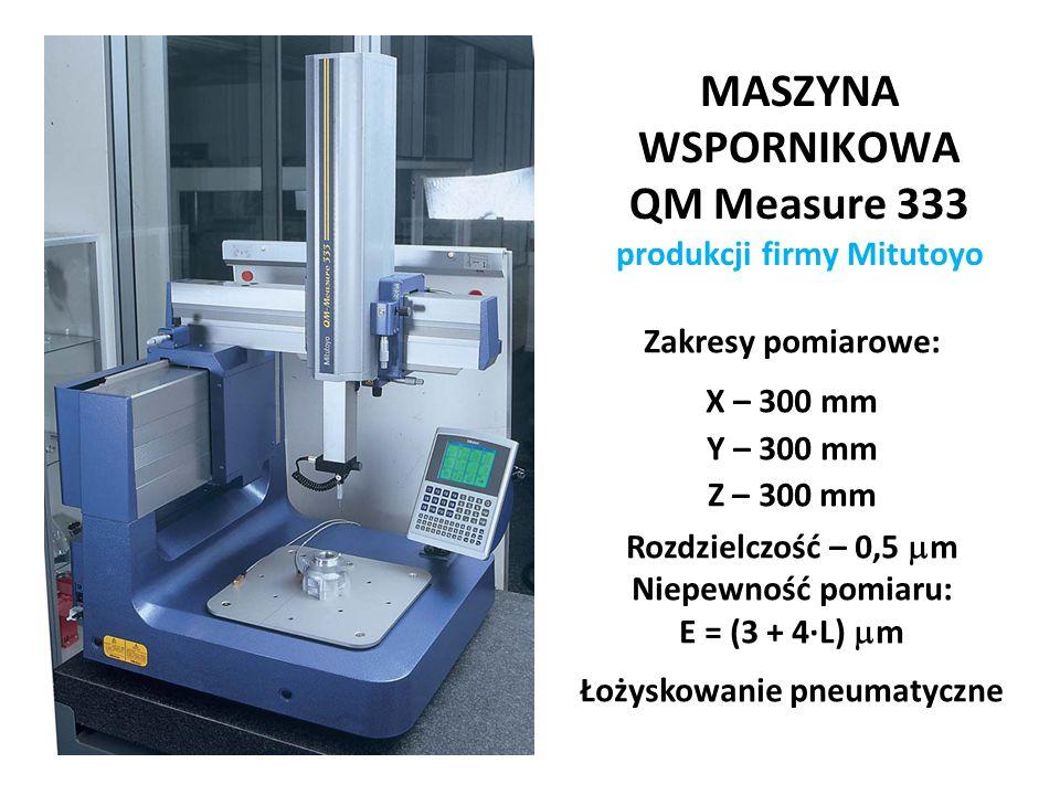 MASZYNA WSPORNIKOWA QM Measure 333 produkcji firmy Mitutoyo