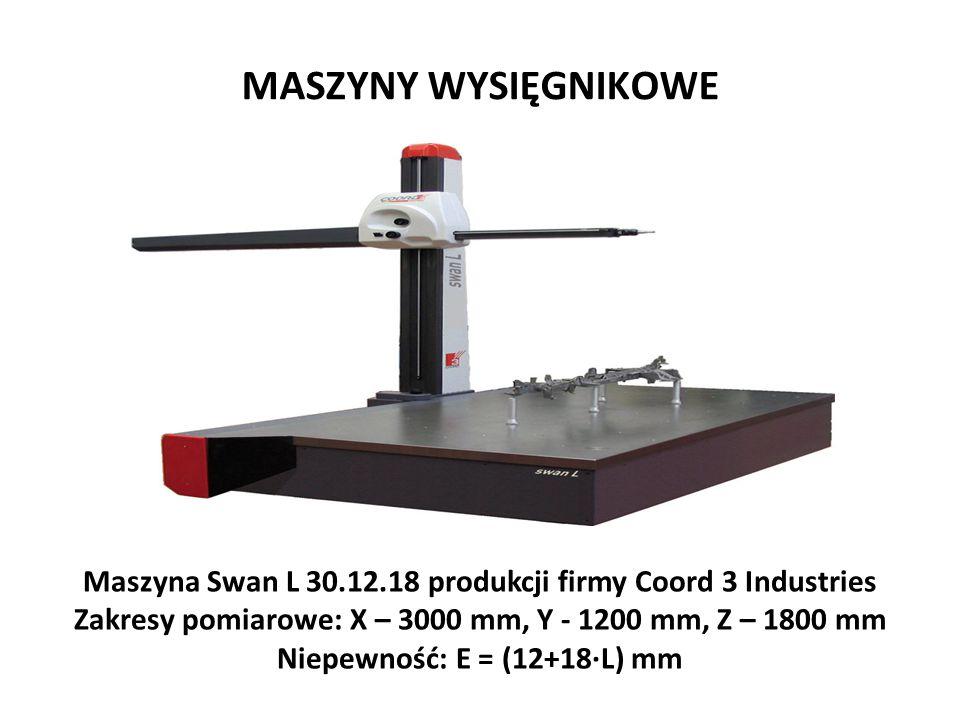 Maszyna Swan L 30.12.18 produkcji firmy Coord 3 Industries