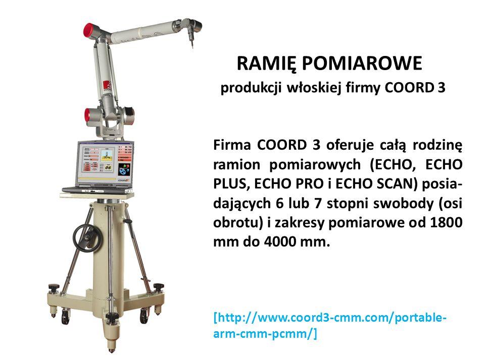 RAMIĘ POMIAROWE produkcji włoskiej firmy COORD 3