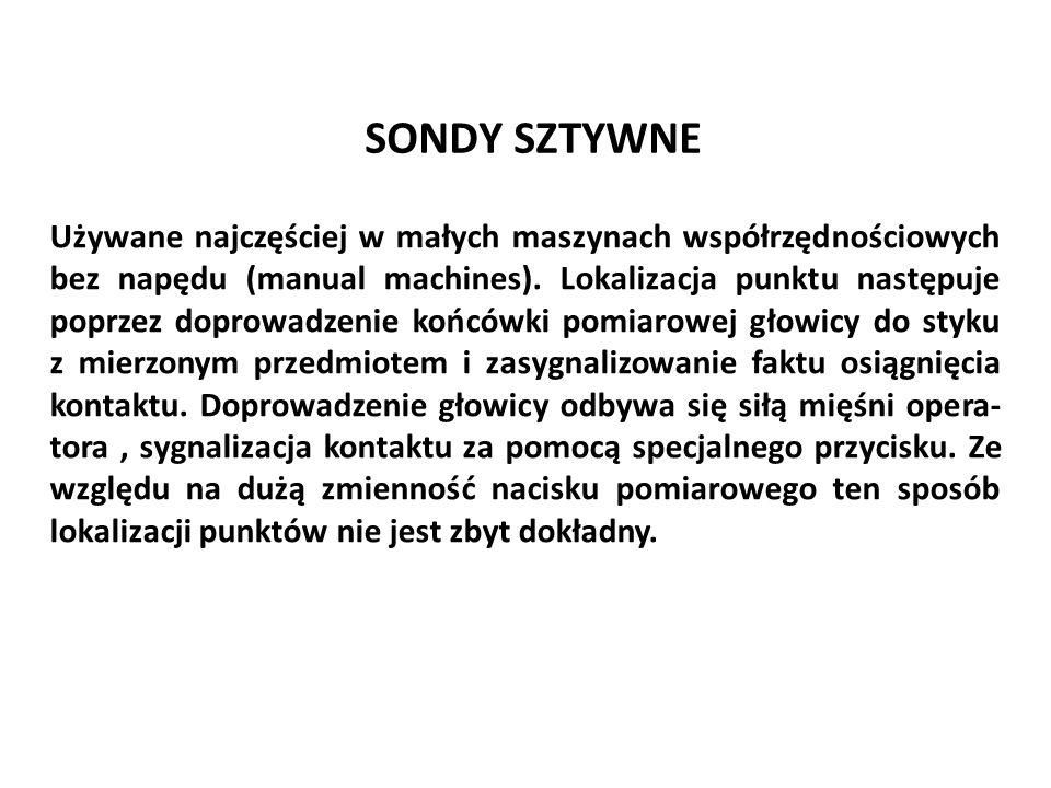 SONDY SZTYWNE
