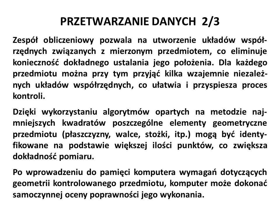 PRZETWARZANIE DANYCH 2/3
