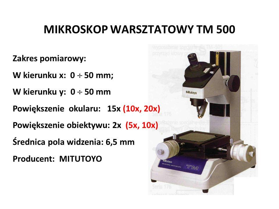 MIKROSKOP WARSZTATOWY TM 500