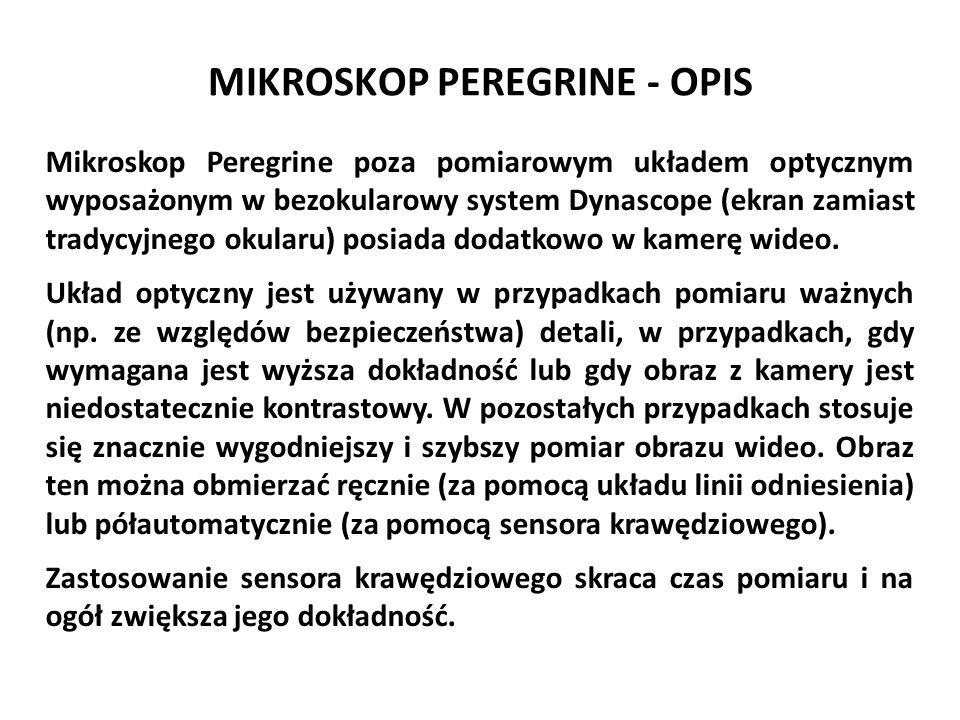 MIKROSKOP PEREGRINE - OPIS