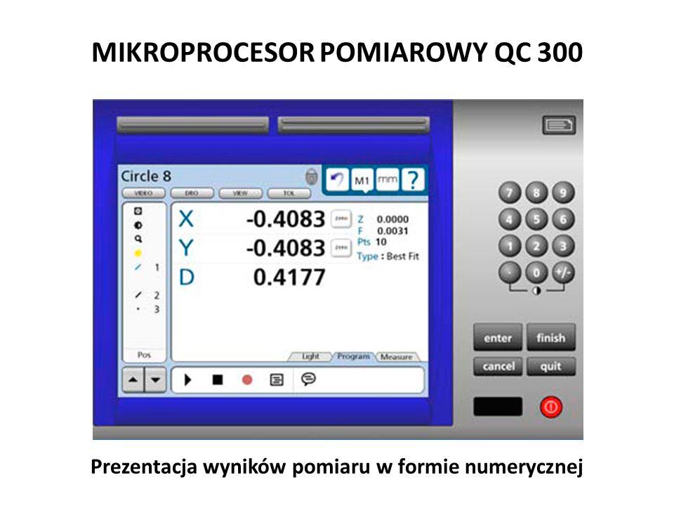 MIKROPROCESOR POMIAROWY QC 300