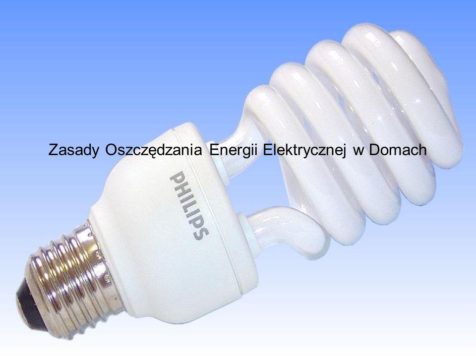 Zasady Oszczędzania Energii Elektrycznej w Domach