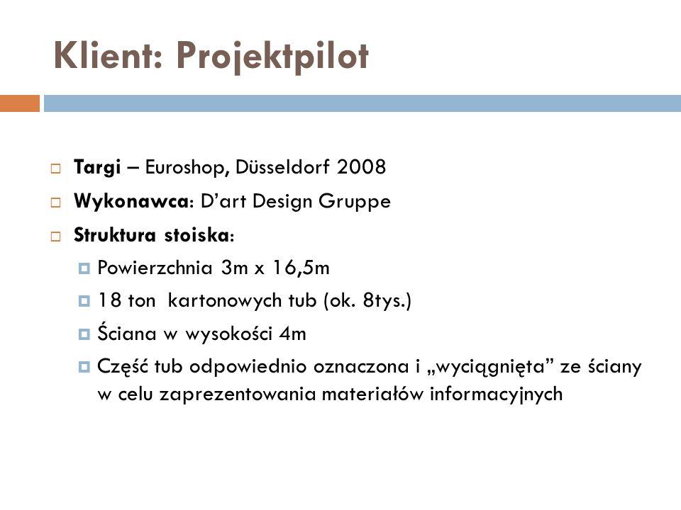 Klient: Projektpilot Targi – Euroshop, Düsseldorf 2008