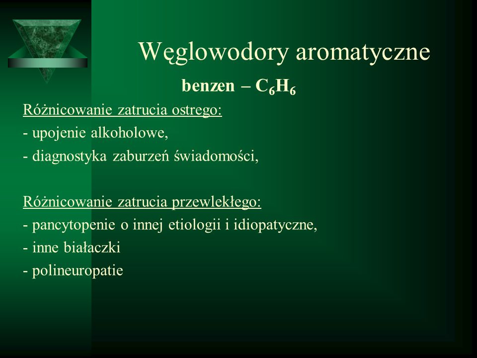Węglowodory aromatyczne