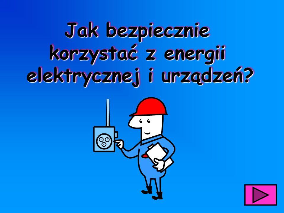 elektrycznej i urządzeń