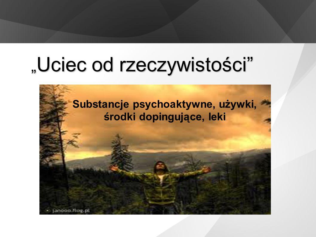 Substancje psychoaktywne, używki, środki dopingujące, leki