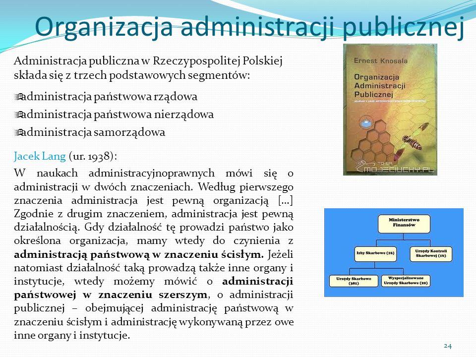 Organizacja administracji publicznej