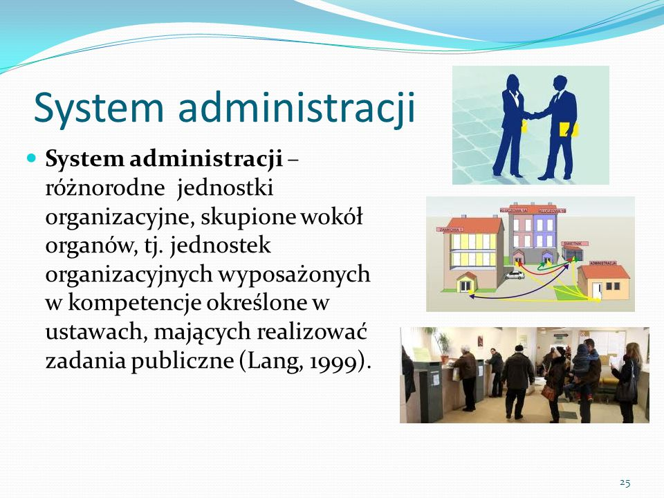 System administracji