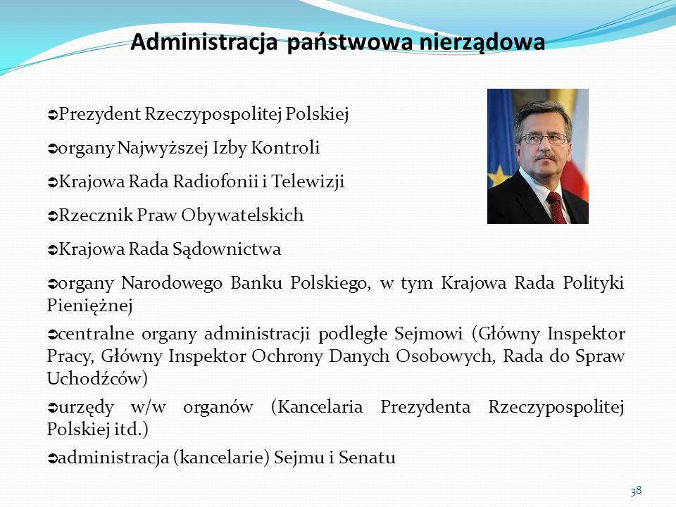 Administracja państwowa nierządowa