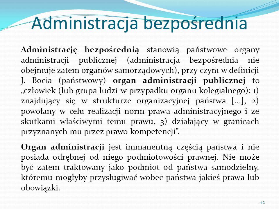Administracja bezpośrednia