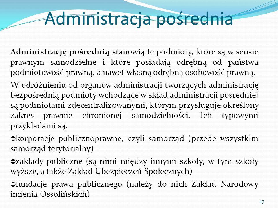 Administracja pośrednia