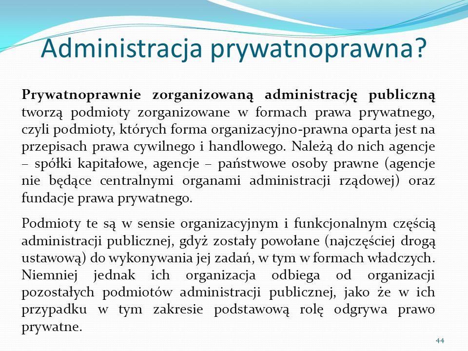 Administracja prywatnoprawna