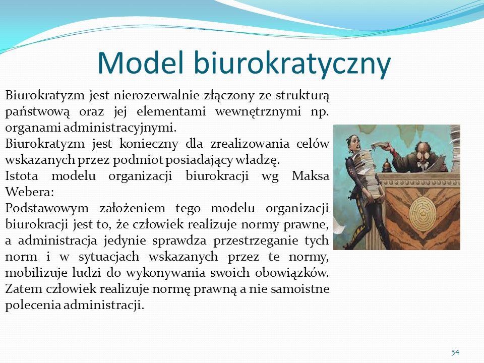 Model biurokratyczny