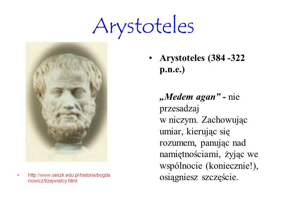 Arystoteles Arystoteles (384 -322 p.n.e.)