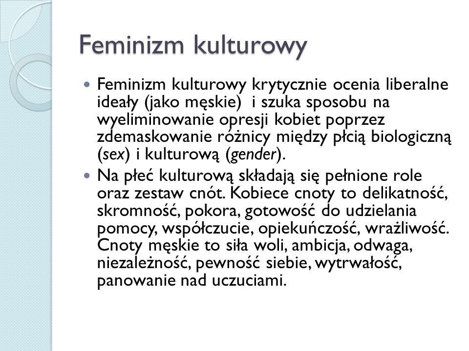 Feminizm kulturowy